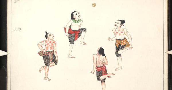 Chinlone, polo and more: Paintings from Burmese manuscripts show how traditional games were played