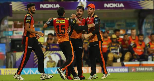 IPL, KKR v SRH, as it happened: Sunrisers enter second IPL final after Rashid's all-round show