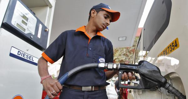 Petrol, diesel prices drop for fifth consecutive day