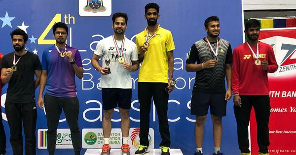 Manu Attri and Sumeeth Reddy retain men's doubles title at Lagos International