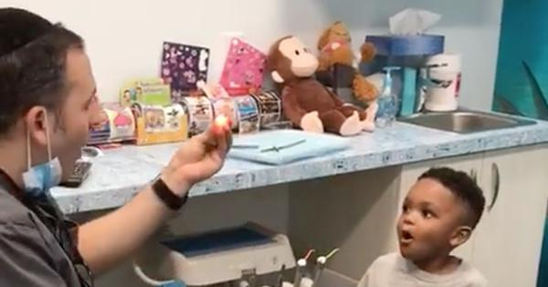 Watch: This dentist takes the pain out of tooth extraction with magic tricks