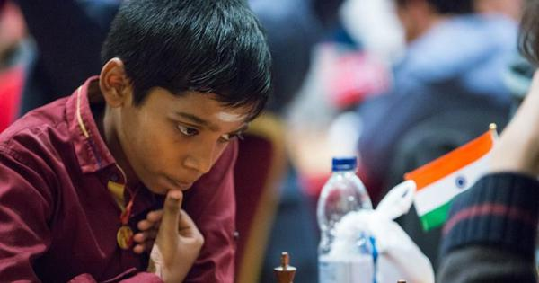 12 साल के प्रग्गनानंद ने शतरंज की दुनिया में इतिहास रचा, दूसरे सबसे युवा ग्रैंडमास्टर बने