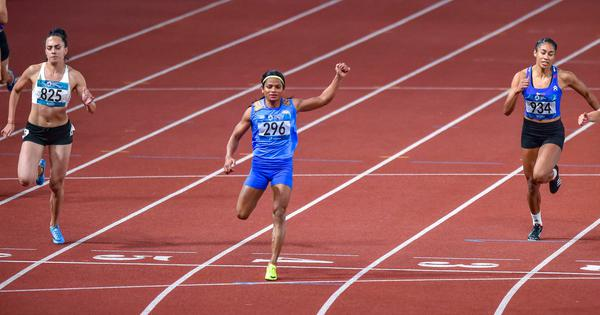 'Train domestic, compete abroad': Dutee Chand will train in Hyderabad, says coach