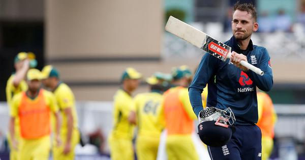 Record-breaking England thrash Australia by 242 runs to win series