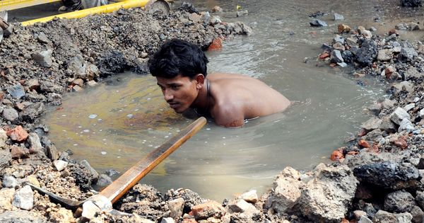 Why technology alone won't solve India's manual scavenging problem