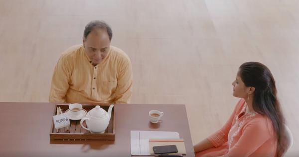 Watch: This clever advertisement for tea catches attention without making claims for the brand