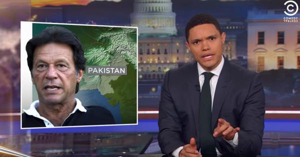 Watch: Trevor Noah thinks Pakistan PM Imran Khan and Donald Trump are very similar to each other