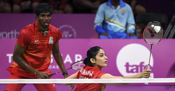 Thailand Open: Satwiksairaj Rankireddy and Ashwini Ponnappa go down fighting in mixed doubles semis