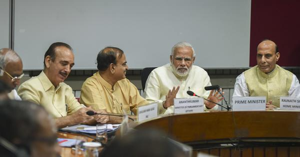 PM Narendra Modi seeks cooperation from Opposition parties during Monsoon Session of Parliament