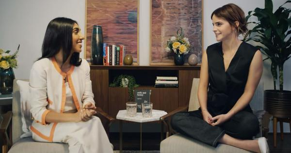 Watch: 'Instapoet' Rupi Kaur talks to actor Emma Watson about poetry, social media and feminism