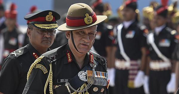 Talks with Pakistan and terrorism cannot go hand in hand, says Army chief Bipin Rawat