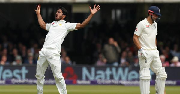 Hasan Ali, Mohammad Abbas run through England as Pakistan take day one honours at Lord's