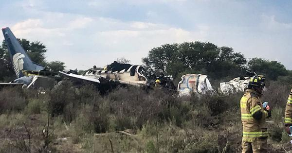 Mexico: Plane carrying 103 people crashes in Durango after take-off, no casualties