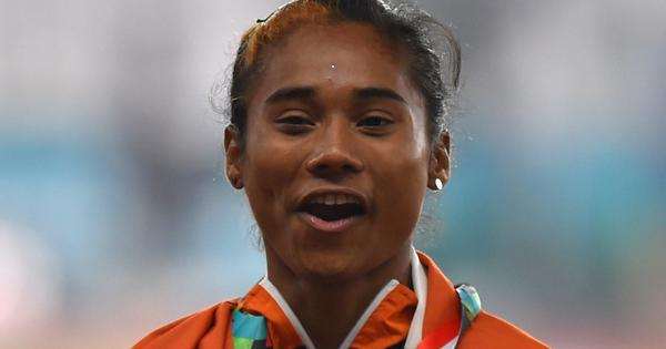 From track to classroom: Hima Das travels 120-plus km to balance board exams and training