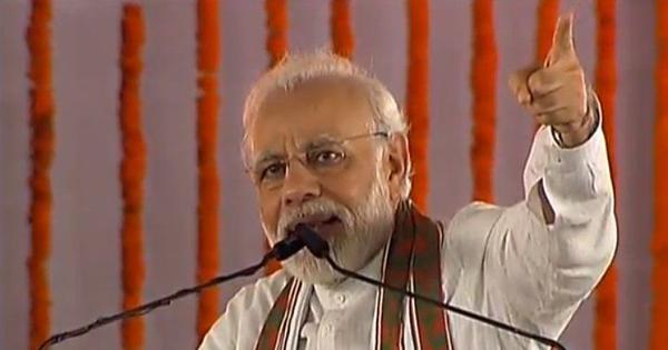 At Uttar Pradesh rally, Narendra Modi criticises Rahul Gandhi for hugging him in Parliament