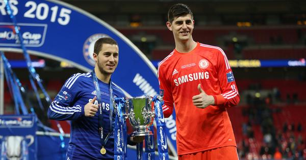 'Will see how the transfer market goes': Chelsea's Sarri tight-lipped on Hazard, Courtois' future