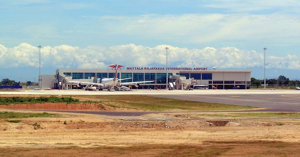Sri Lanka to give India control of its loss-making airport in Hambantota
