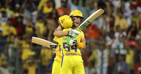 Seventh heaven: Chennai Super Kings clinch a thriller against Sunrisers to reach IPL 2018 final