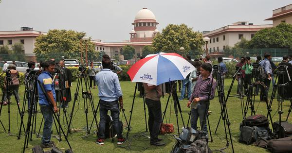 SC allows live-streaming of court proceedings, says rules to be framed soon