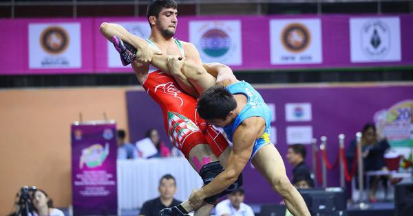 Vishal, Sachin and Naveen win silver medals at Junior Asian Wrestling Championships
