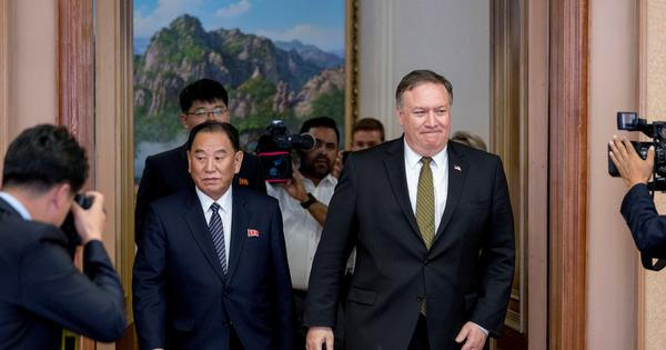 Talks with US on dismantling nuclear programme were regrettable, says North Korea