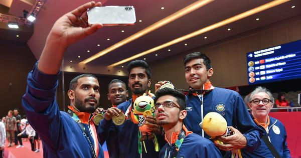 Table tennis: Indian men's team enters top 10 in latest ITTF world rankings