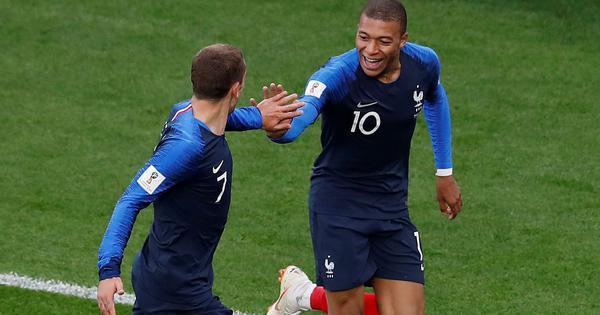 फुटबॉल विश्वकप : फ्रांस ने पेरू को हराया