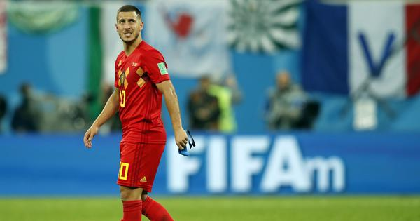 'He has got a winning mentality': Martinez praises Hazard as Real Madrid rumours do rounds