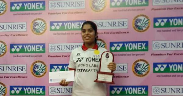 Badminton: Aakarshi Kashyap beats Malvika Bansod to win India Junior International title