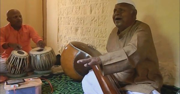How a Maharashtrian cattle-grazer taught himself the intricacies of Hindustani music