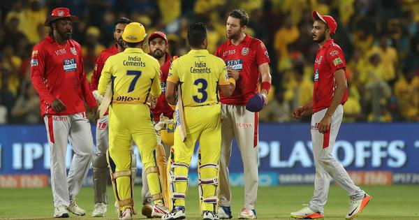 IPL 2018: Ngidi, Raina power CSK to a five-wicket win that eliminates KXIP, sends RR through