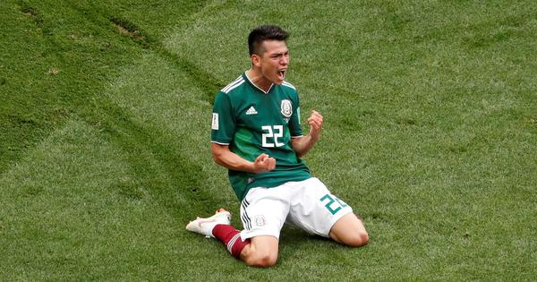 World Cup, Group F, Germany v Mexico as it happened: World Champions stunned by Lozano and Co