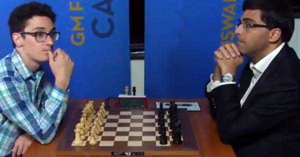Sinquefield Cup chess: Anand settles for eighth consecutive draw as Caruana preserves lead