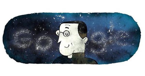 प्रसिद्ध खगोलविद जॉर्ज लेमैत्रे को गूगल ने डूडल बनाकर श्रद्धांजलि दी