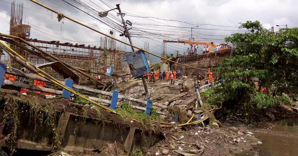 West Bengal: Under-construction bridge collapses in Kakdwip, no injuries reported