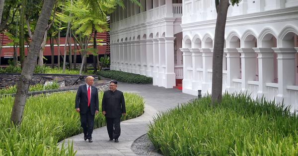 Donald Trump makes a U-turn, claims North Korea still poses an 'extraordinary threat'
