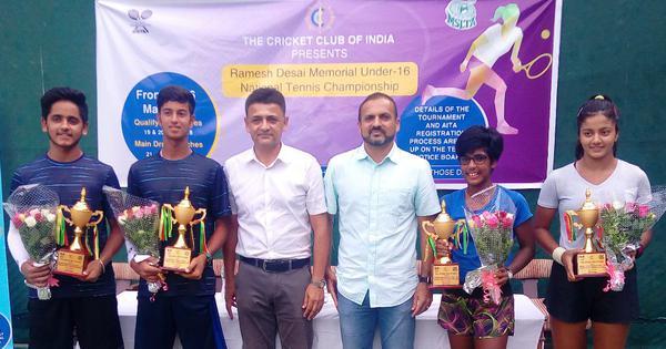 Tennis U16 Nationals: Sandeepti Rao enters singles final before winning doubles crown