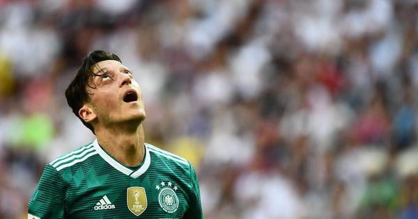 DFB president Grindel admits that Ozil deserved more support over 'racist attacks'