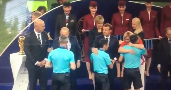 Watch: Croatian president wins hearts with hugs (and other moments after the World Cup final)
