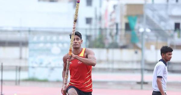 Athletics: Pole vaulter Rakesh Gond sets new youth national record