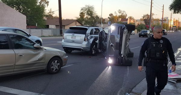 Uber suspends self-driving car tests after one of its vehicles meets with an accident in Arizona