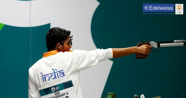 Asian Games live: Shooter Saurabh Chaudhary wins gold in 10m air pistol, Sanjeev Rajput gets silver