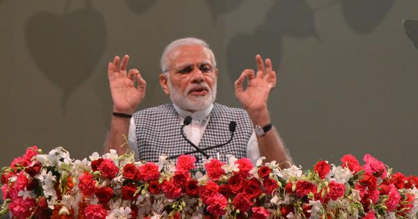Centre has raised agricultural budget to Rs 2 lakh crore to double farm incomes by 2022: PM Modi