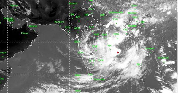 Weather department issues cyclonic storm warning for Odisha, Andhra Pradesh
