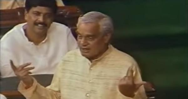 Watch: Five speeches that prove Atal Bihari Vajpayee was one of India's most effective orators