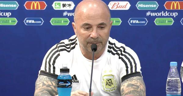 'After they scored we were emotionally broken': Argentina coach Sampaoli reacts to Croatia defeat