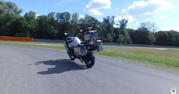 Watch: After cars, here is the prototype of the self-driving motorcycle
