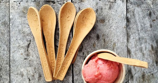 First spoons, now chopsticks: Edible cutlery is being developed for a zero-waste future