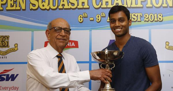 Asian Games-bound Mahesh Mangaonkar wins Maharashtra State Men's Squash tournament title