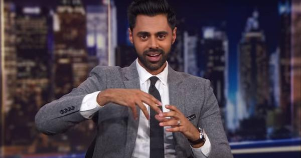 Watch comedian Hasan Minhaj's final appearance on Trevor Noah's 'The Daily Show'